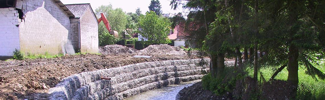 Entretien de cours d'eau