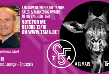 Ronald Gobert nominé aux «Trends Sales & Marketing Awards»