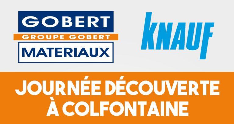 Workshop Knauf chez Gobert Matériaux Colfontaine